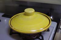 にんにく醤油塩麹漬けとりささみの陶板焼き。 - おおぐらい通信
