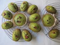 抹茶マドレーヌ ♪ひな祭りのデザートに♪ - やせっぽちソプラノのキッチン2
