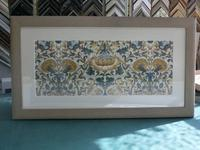 ウイリアム・モリスのカーテン - 絵のある生活ページワン