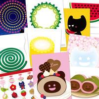 Dぼうポストカードが選べる6枚セットになりました! - グラフィックデザインとイラストレーション☆YukaSuzukiのブログ
