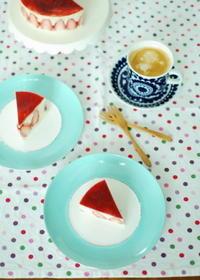 苺のケーキとお雛様☆ - moko's cafe