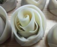 バラの形の餃子 - 葉っぱ=64 PART2