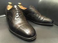 J.M.WESTON310のつま先が...~修理の巻~ - 日本橋三越2F 靴修理・靴お手入れ工房スタッフの日常(シューリペア工房)