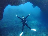 地形&ウミウシ&カメ 堪能しました~♪ - 八丈島ダイビングサービス カナロアへようこそ!