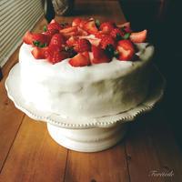 イチゴのショートケーキ - Foretoile~フォレトワール~ アトリエと日々のこと