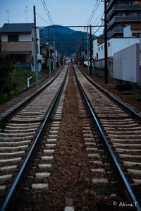 嵐電 北野線 -6- (常盤〜撮影所前〜帷子ノ辻) - ◆Akira's Candid Photography