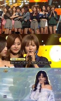 TWICE「人気歌謡」で1位獲得!少女時代 テヨン、LOVELYZ、gugudanがカムバックステージを披露 - Niconico Paradise!