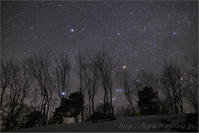 沈む冬の星座 - 遥かなる月光の旅