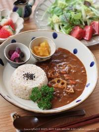 あのお方とデート(・・。)?✿ THE YAGI CURRY(´y`;)♪ - **  mana's Kitchen **