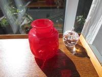 お嫁入り…ガラス花器 - petit verre journal