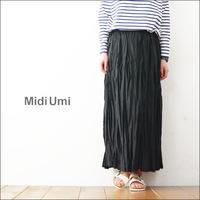 MidiUmi [ミディウミ] washer long SK [1-762313] ワッシャーロングスカート - refalt   ...   kamp temps