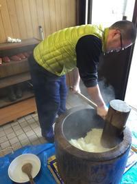 勝木間瀬公民館恒例の餅つき大会!! - ビバ自営業2