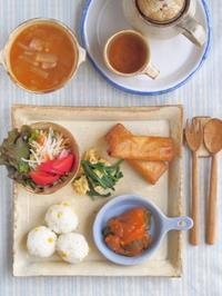 元気朝ごはん。 - 陶器通販・益子焼 雑貨手作り陶器のサイトショップ 木のねのブログ
