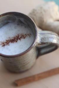 酒粕で作る、甘酒チャイ - 玄米菜食 in ニュージャージー