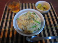 ほうれん草と豆乳のリゾット - 恵茶房 meg tea labo