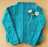 セーター編んだ - 好きな写真と旅とビールと