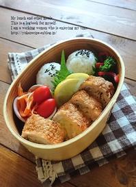 3.6 月曜だけど…肉。キャベツカツのお弁当 - YUKA'sレシピ♪