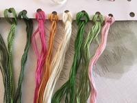 また次の刺しゅう糸を準備しました / いちごの紅茶 - y-hygge