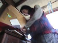 続・チビカメラマン  3月の雪 - 南阿蘇 手づくり農園 菜の風