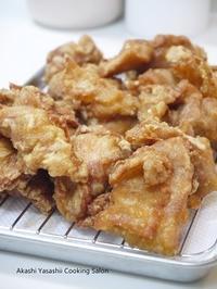 懐かしい鶏の唐揚げ - ーAkashi Yasashii Cooking Salonー料理教室/明石/兵庫/関西