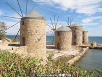 ヒオス島のヴロンダドスの風車が美しい! - 日刊ギリシャ檸檬の森 古代都市を行くタイムトラベラー