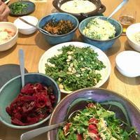 島藍猫食堂開店、島野菜の宴。 - shimaai   藍染屋の独り言。