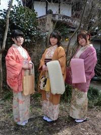 今回はお着物と羽織の時期に。 - 京都嵐山 着物レンタル&着付け「遊月」
