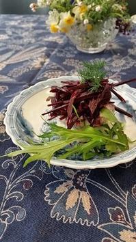 ロシア料理でランチパーティ - 牡蠣を煮ていた午後