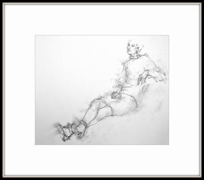 《『Gallerytanasita 17』開設》Ⅵ - 『Gallerytanasita 1735』croquis・drawing・dessin・ sketch