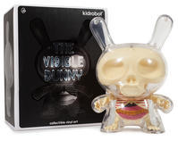 """The Visible 8"""" Dunny by Jason Freeny - 下呂温泉 留之助商店 入荷新着情報"""