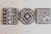 レース絞りクッキー - 調布の小さな手作りお菓子・パン教室 アトリエタルトタタン