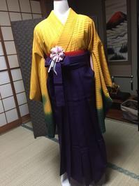 卒業袴 - 着付師 時々ハンドメイド