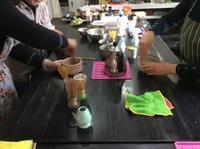 簡単なお茶の点て方&いただき方 - coco diary 山口県 お花と絵とテーブルコーディネートレッスン