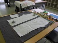 「洋服づくりがカンタンになる 型紙づくりと裁断 編」2日目 - hirono -ものづくりノートー