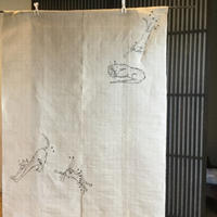 暖簾 - 「にゃん」の針しごと