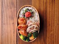 3/8(水)パプリカ入り鶏つくね弁当 - おひとりさまの食卓plus