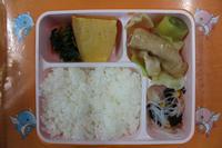 今日の給食です! - 慶応幼稚園ブログ【未来の子どもたちへ ~Dream Can Do!Reality Can Do!!~】
