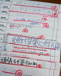 今日まで一緒に頑張ってきた中3生のみんなへ - 朝倉街道奮闘記(ちくしん本校)