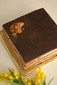 マクロビチョコレートケーキ ショートケーキ - REINETTE