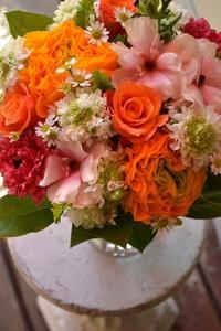 送別、お誕生日、結婚記念日の花束♪ - 花色姉弟の気まぐれDiary