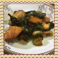 鱈(タラ)と葉玉ねぎのチリソース炒め(簡易レシピ付) - kajuの■今日のお料理・簡単レシピ■