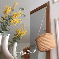 "7""Flat Back - NANTUCKET &KK ナンタケットバスケット制作教室blog♪"