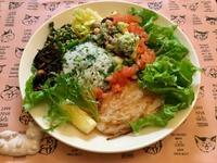 ルッコラライスのワンプレート - カフェ気分なパン教室  ローズのマリ