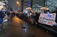 MX「ニュース女子」抗議行動8 - ムキンポの exblog.jp