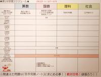 ♡学習の記録♡ 新小6コースSTART!! - Let's 合格!中学受験!Go for it!! ~ママは英検準1級にChallenge!~