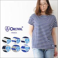ORCIVAL [オーチバル・オーシバル] 40/2 STRIPE TEE REGULAR STRIPE [RC-6829] - refalt   ...   kamp temps