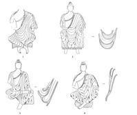 210 莫高窟北朝仏像の着衣(1) - 日本じゃ無名?の取って置きの中国一人旅