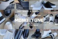 """Today's Color Palette /taz  Mono Tone Color Shoes...3/9thu"" - SHOP ◆ The Spiralという館~カフェとインポート雑貨のある次世代型セレクトショップ~"