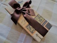 今日のおやつは、ツマガリのチョコレートケーキ - カステラさん