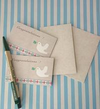 入園、入学に♪おめでとうカード - mon livre diary